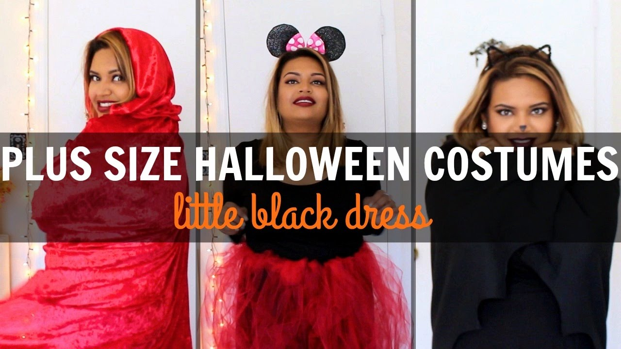 Little Costumes For Halloween | 2016 Plus Size Halloween Costumes Little Black Dress Youtube