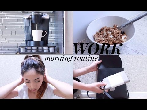 WORK MORNING ROUTINE 2016! // @ohdangdanii