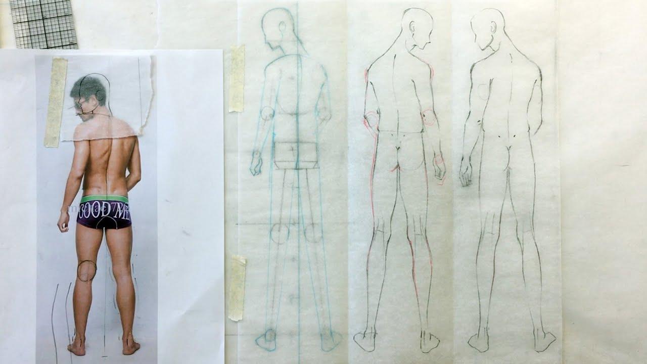 zoe hong fashion illustration fashion illustration tutorial back figures