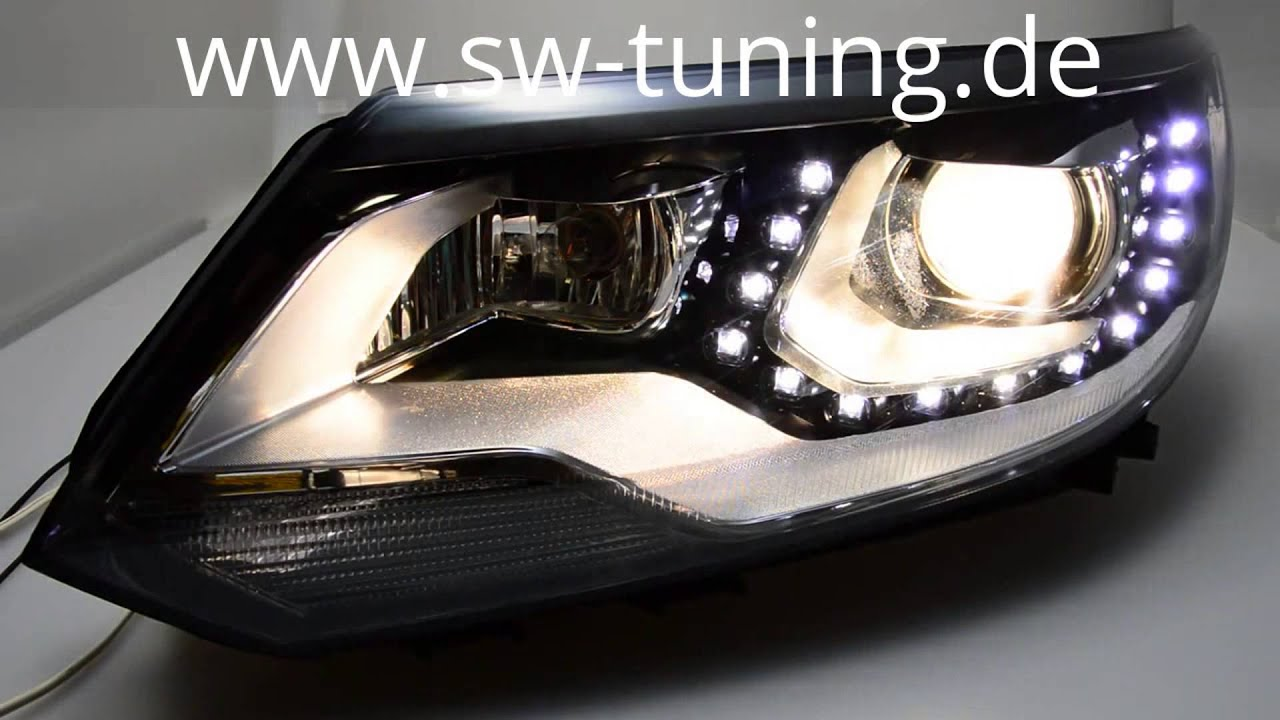 swdrl scheinwerfer f r vw tiguan 5n gp led standlicht. Black Bedroom Furniture Sets. Home Design Ideas