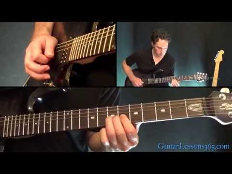 Anastasia Guitar Lesson Pt.4 – Slash – Outro Solo