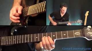 Anastasia Guitar Lesson Pt.4 - Slash - Outro Solo