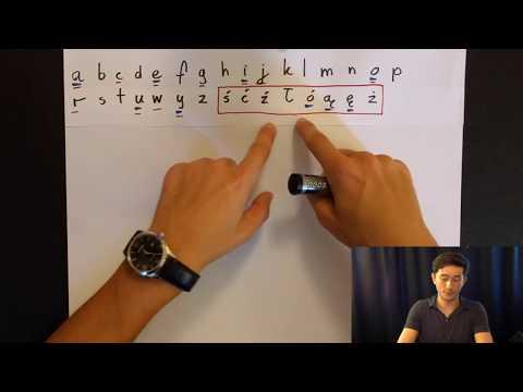 Polish A, E, I, O, U, Y - writing and pronunciation 1 - Complete guide