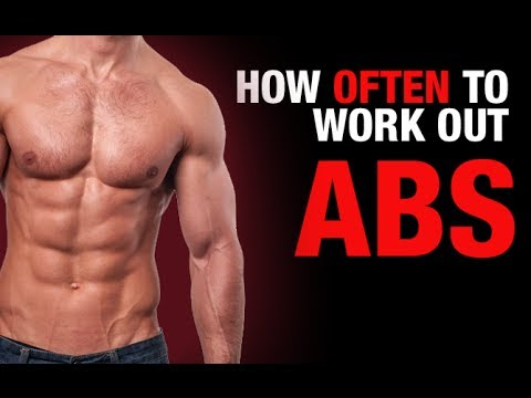 How Often to Work Out Your Abs? (ULTIMATE AB QUESTION!)