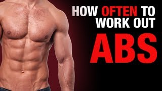 How Often to Work Out Your Abs? (ULTIMATE AB QUESTION!) thumbnail