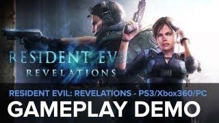 Resident Evil: Revelations - Gameplay demo (PS3 - Xbox 360 - PC - WiiU)