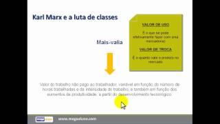 KARL MARX I - Aula de Sociologia (megaaluno.com)