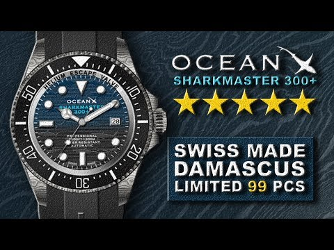 MICROBRAND SWISS MADE KEREN AWAL TAHUN 2020 ❗ Review Jam Tangan OCEANX DAMASCUS STEEL LIMITED 99 PCS