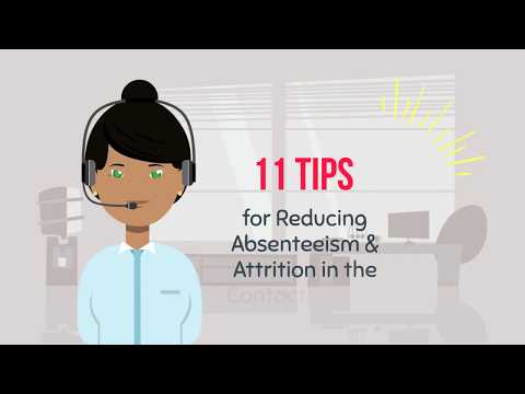 11 Tips to Reduce Absenteeism & Attrition