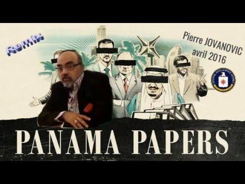 """Les """"Panama Papers"""" vus par Pierre JOVANOVIC (avril 2016) Voir descriptif."""