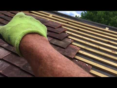 Clay tile Re roofing Job  part