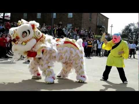 Tet 2013 - Lion Dance After 10 AM Mass