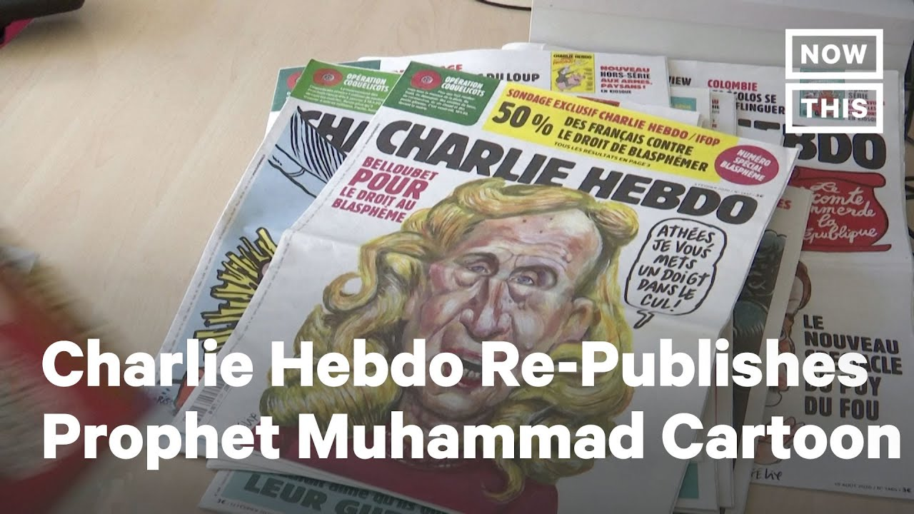Charlie Hebdo Republishes Cartoon Of Prophet Muhammad Nowthis Youtube