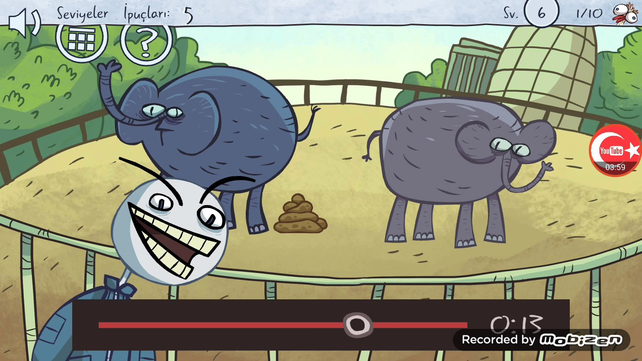 Troll face Quest bölüm:1 Troll oyun (ses sıkıntısı ...