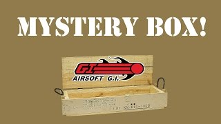 Three Airsoft GI Mystery Boxes, what will they be...