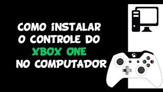 Como instalar o controle do XBOX ONE no COMPUTADOR PC