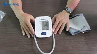Hướng dẫn sử dụng máy đo huyết áp điện tử bắp tay Omron HEM-7121