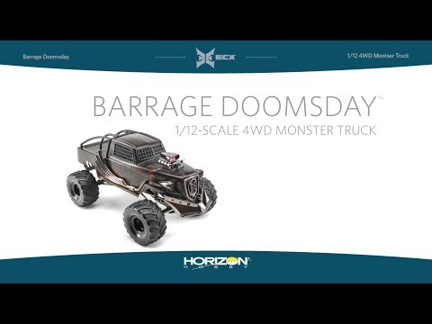 ECX 1/12 4WD Barrage Doomsday 1.9 Scaler RTR
