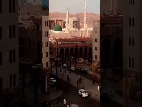 Beautiful View of Medina Al Masjid an Nabawi   المسجد النبوي ﷺ