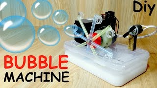 How to Make a Bubble Machine with Motor at home