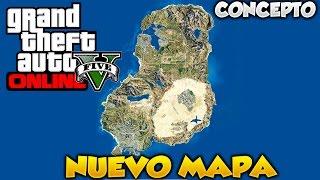 GTA V Online Nuevo Mapa Los Santos Sanfierro Las Venturas Concepto De Mapa Para Futuro DLC Fanart