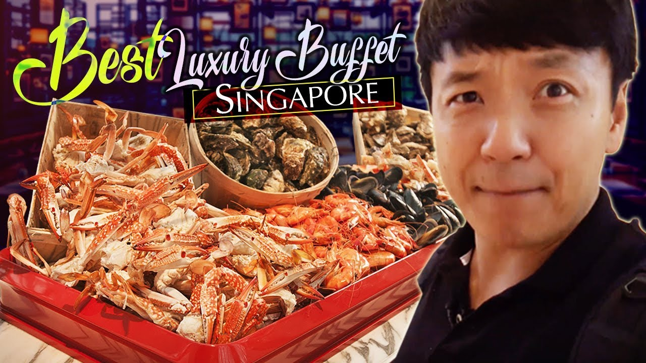 BEST LUXURY BUFFET in Singapore!? Colony Buffet Review at Ritz Carlton