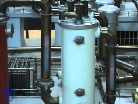 Макет производства серной кислоты