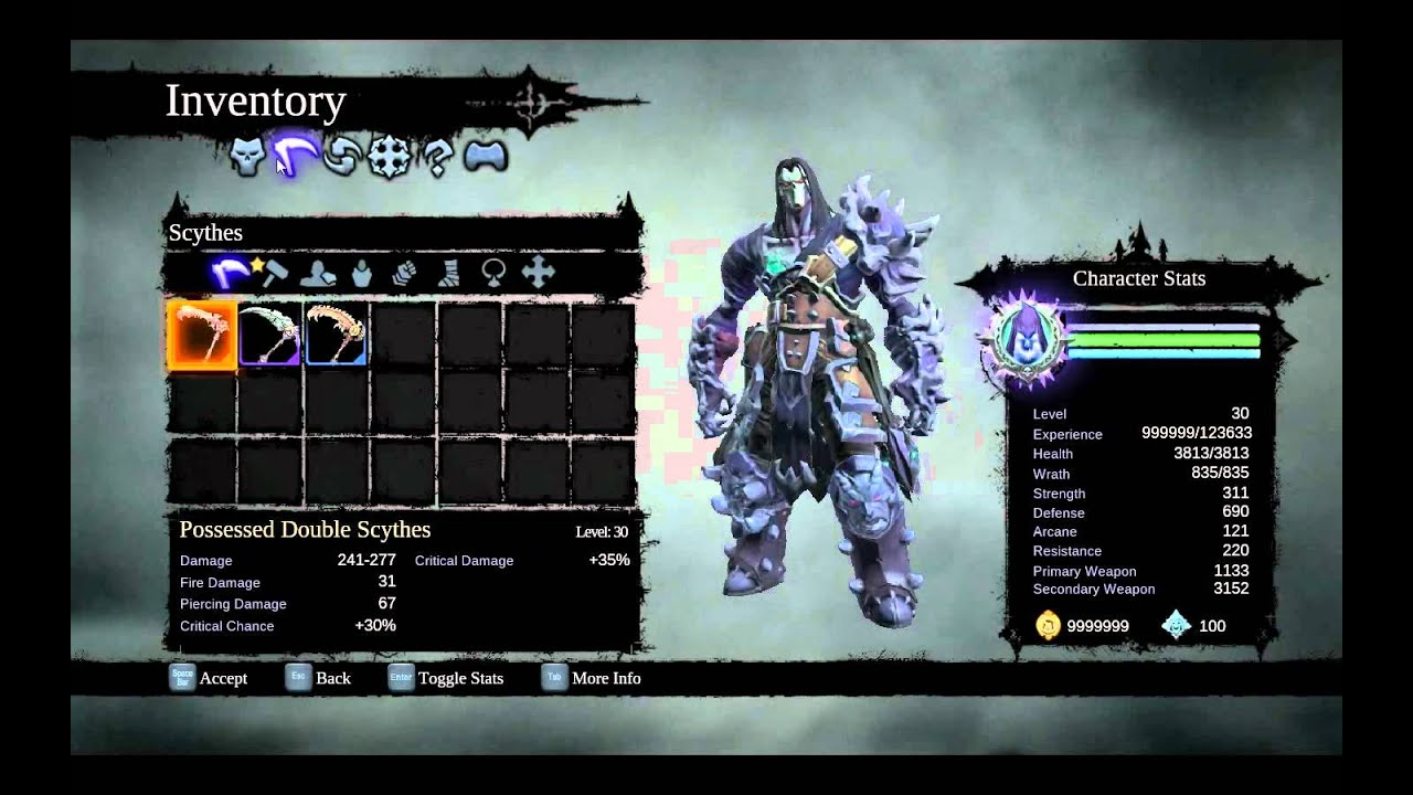 Darksiders 2 FLiNG Working Trainer +22 options