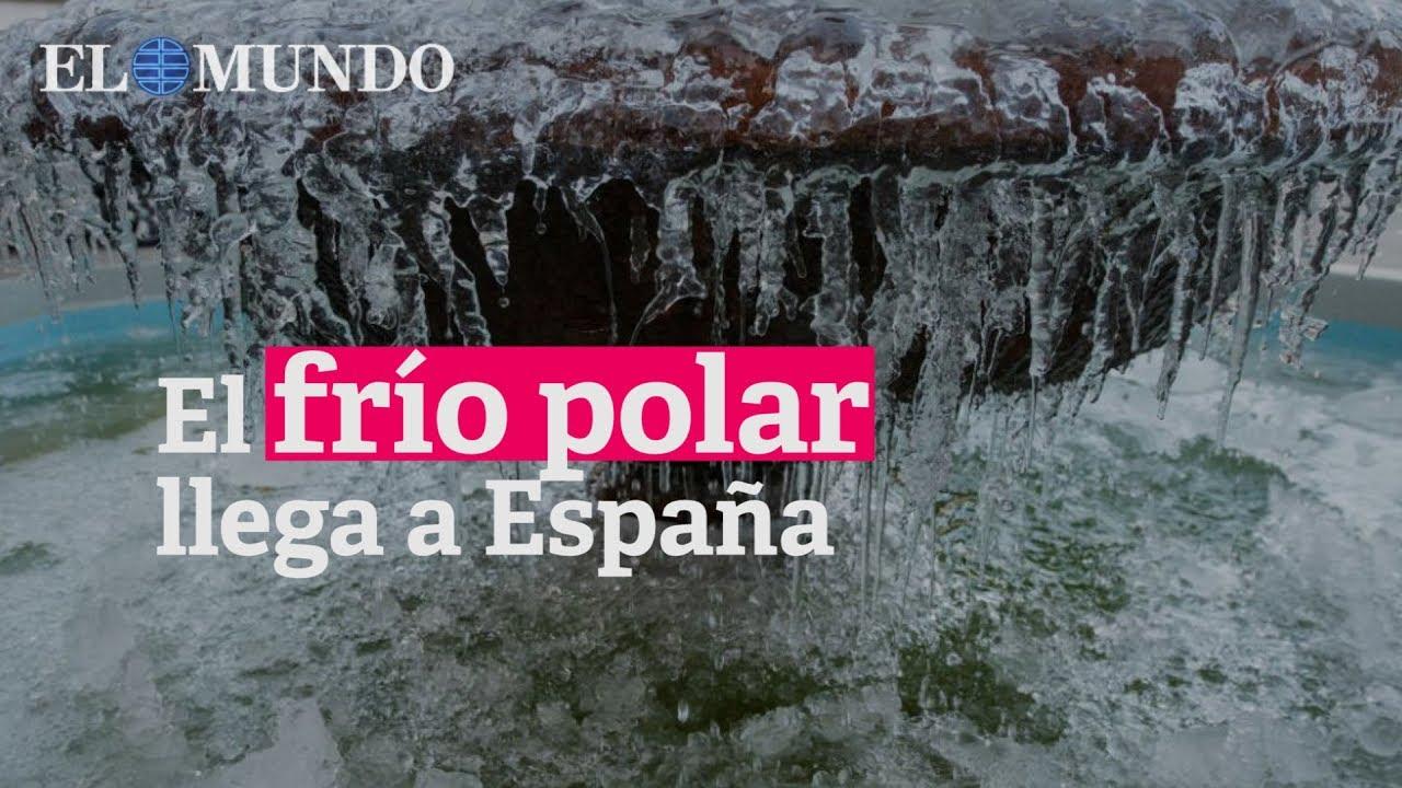 70349d2628 Llega el frío polar a toda España - YouTube