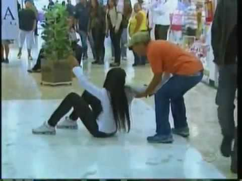 floor sticky Brazilian Prank