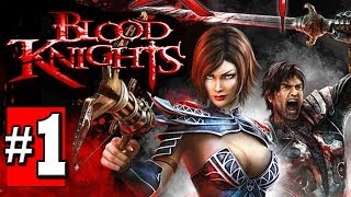 Blood Knights Gameplay Walkthrough Part 1 - Lets Play Playthrough [HD] XBOX 360 XBLA