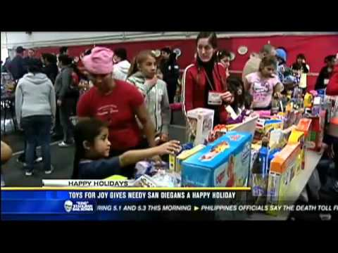 KFMB: Toys For Joy Gives Needy San Diegans a Happy Holiday