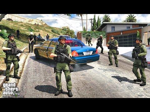 GTA 5 MODS LSPDFR 1019 - GANG UNIT PATROL!!! (GTA 5 REAL LIFE PC MOD)