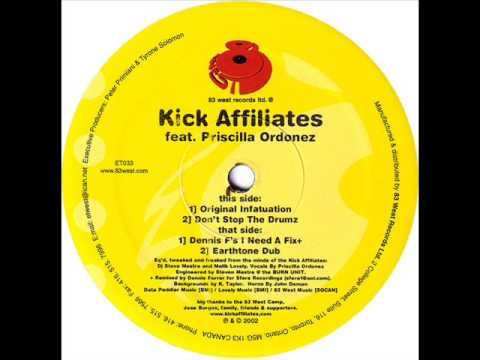 Kick Affiliates - Don't Wanna Stop (Dennis Ferrer mix)