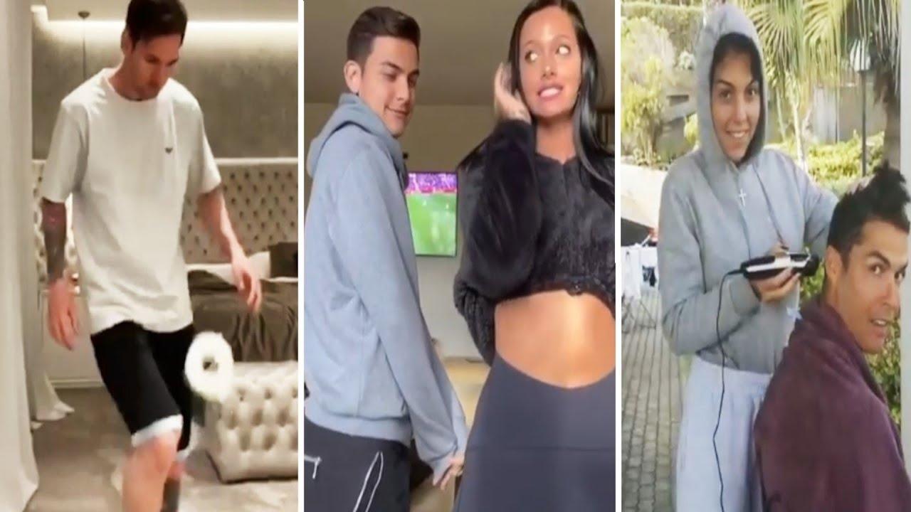 ? Así Pasan Los Futbolistas FAMOSOS La Cuarentena (Cristiano, Messi, Neymar, Dybala) ?