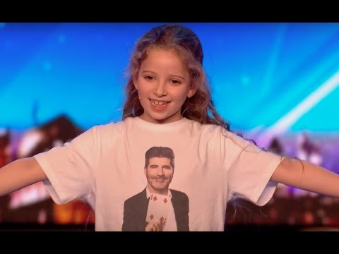 8 YO Girl Issy SHOCKS Everyone With Her Magic | Audition 2 | Britain's Got Talent 2017