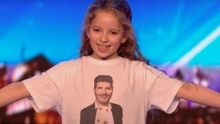 8 YO Girl Issy SHOCKS Everyone With Her Magic | Audition 2 | Britain's Got Talent 2017 thumbnail