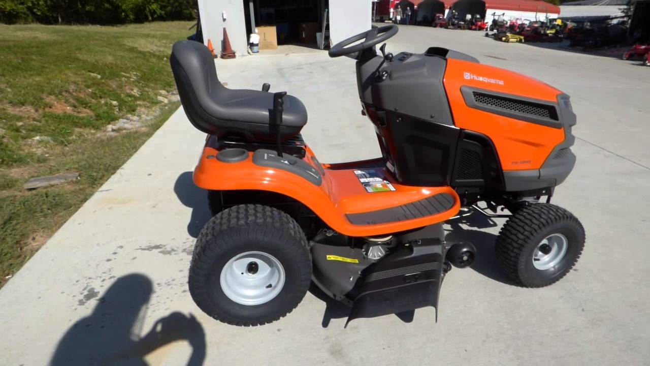 Garden Tractor Without Mower Deck : Husqvarna yta k lawn tractor with hp kohler courage