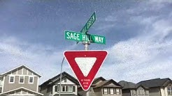 Sage Hill North West Calgary Alberta Video