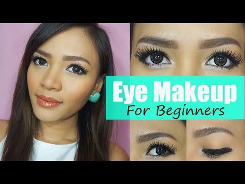 Eyeliner / Eye Makeup For Beginners │Bahasa
