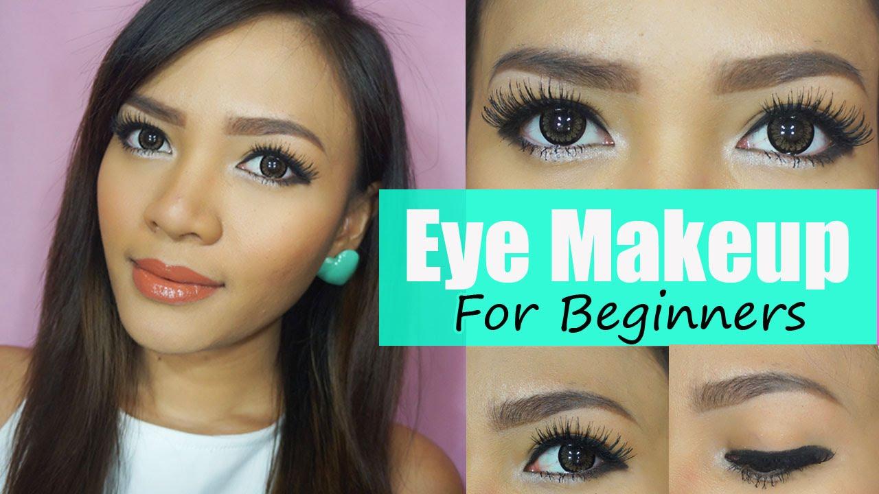 Eyeliner / Eye Makeup For Beginners │Bahasa - YouTube