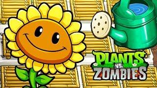КОРМИМ РАСТЕНИЯ И АТАКУЕМ ЗОМБИ - Plants Vs Zombies #37