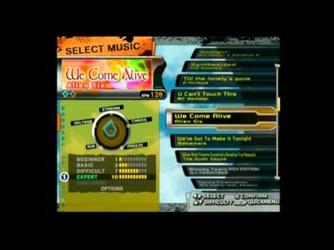 Dance Dance Revolution X (US CS) Full Song List