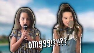 ANNIE LEBLANC SINGING THROUGHOUT THE YEARS!!! Dayley Bratayley