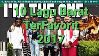 10 Lagu Barat Terfavorit 2017