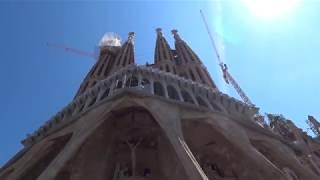 Храм Святого Семейства от Гауди в Барселоне
