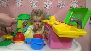 Детская кухня Обзор детской кухни Галинка кухня для детей мини Кухня для детей маленькая кухня(Детская кухня Обзор детской кухни Галинка кухня для детей мини Кухня для детей маленькая кухня., 2015-12-19T18:12:52.000Z)