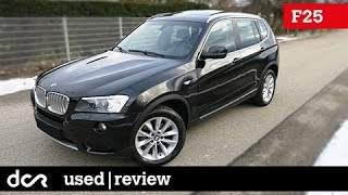 Buying a used BMW X3 F25 - 2010-2017, Buying advice with Common Issues