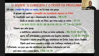 Estudo Bíblico - Efésios 3.1-13 - 14/04/2021