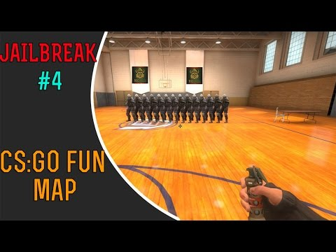 CS:GO Jailbreak #4 - CS:GO Turnuvası #Fun Map #Türkçe